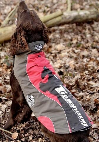 Touchdog outdoor coat 2in1, rød